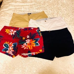 Old Navy Everyday Shorts - 4 pack